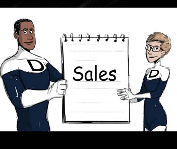 Comic - Sales Consulting
