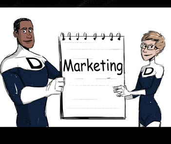 Comic - Marketing Consulting