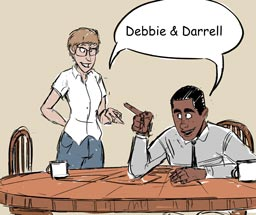 Comic - Debbie and Darrell Successes